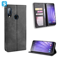 magnetic TPU PU leather phone case for HTC U19E